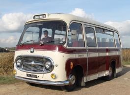 Vintage wedding bus for weddings in Hastings